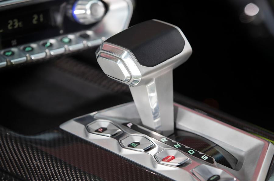 Zenvo TS1 GT automatic gearbox
