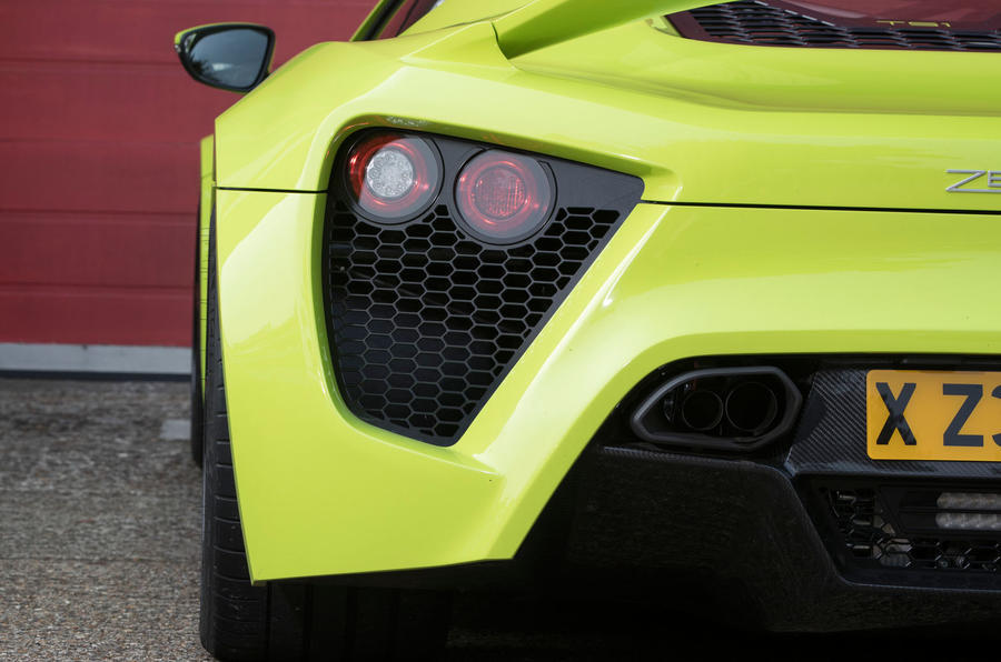 Zenvo TS1 GT rear lights