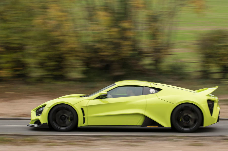 Zenvo TS1 GT side profile