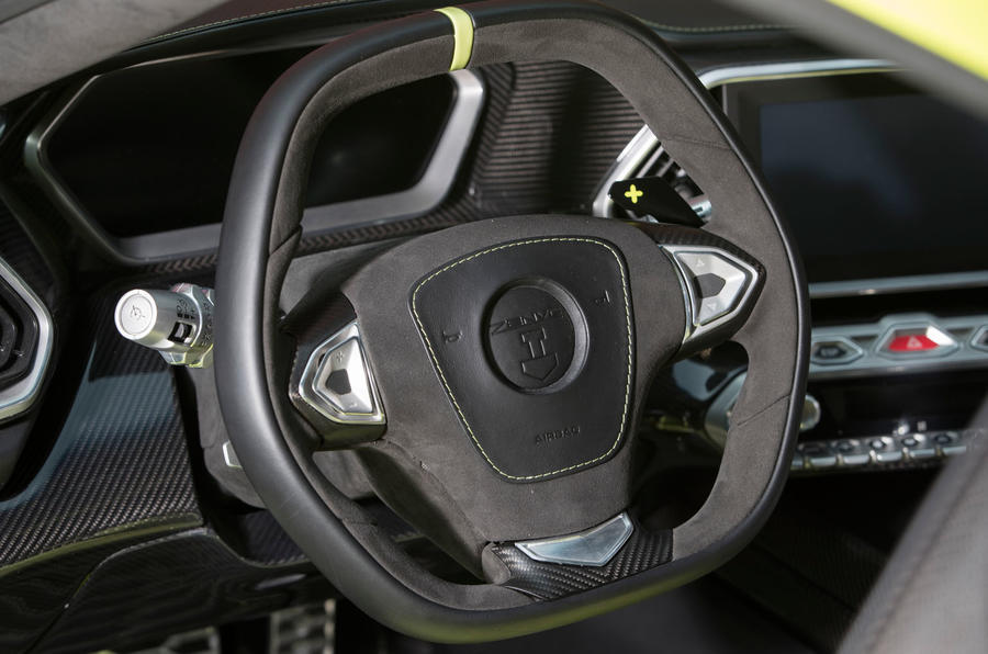 Zenvo TS1 GT steering wheel