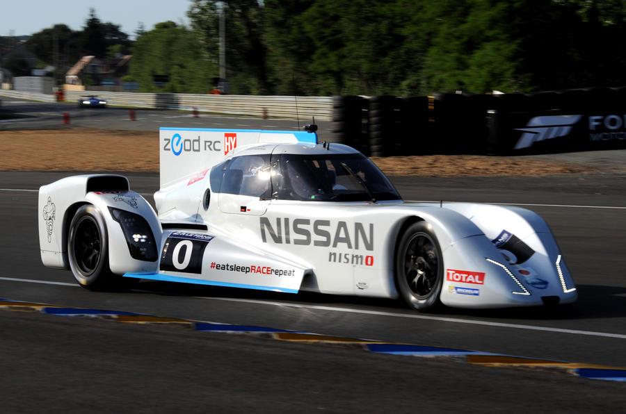 Le Mans blog - Nissan