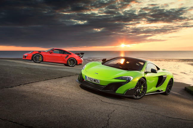 Our best group tests - McLaren 675LT vs Porsche 911 GT3 RS