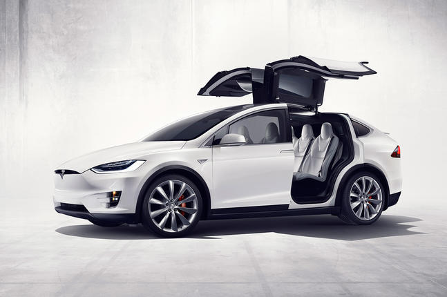 2015 Tesla Model X revealed - full pictures