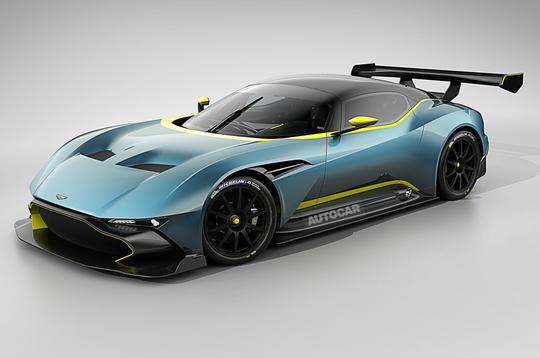 Aston Martin Vulcan hypercar set for Geneva debut