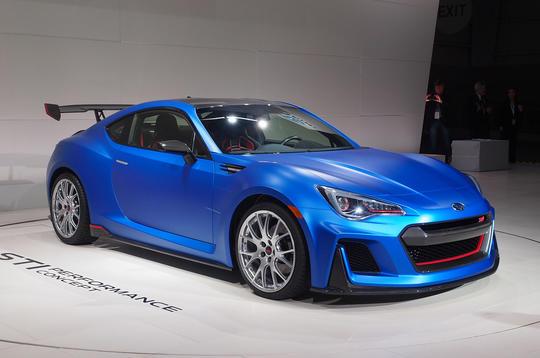 Subaru's STI Performance Concept hints at more powerful BRZ