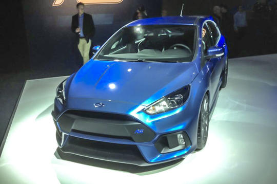 2016 Ford Focus RS to offer launch control