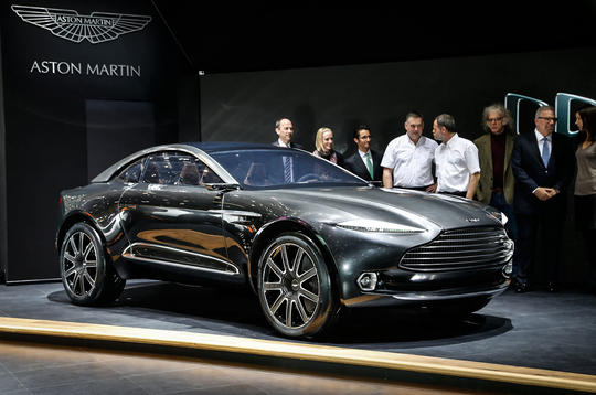 Aston Martin DBX Concept previews new crossover GT
