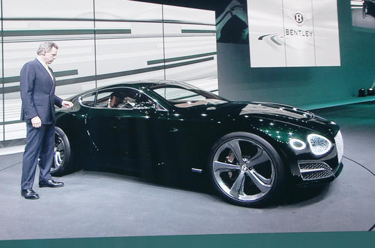 New Bentley EXP 10 Speed 6 concept previews two-seat sports car