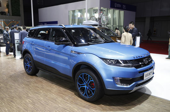 Chinese Range Rover Evoque cleared of copycat design