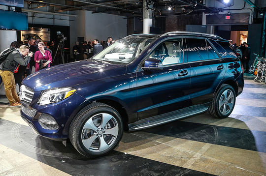 2015 Mercedes-Benz GLE revealed in New York