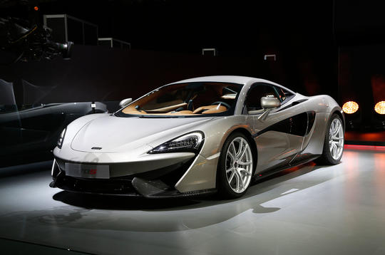 New McLaren 570S Coupé to be priced from £143,250