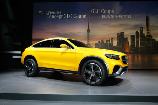 New Mercedes-Benz Concept GLC Coupé unveiled