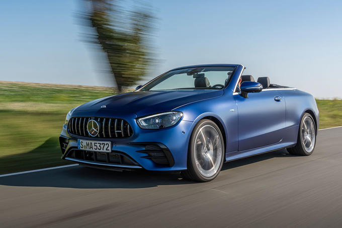 Mercedes-AMG E53 Cabriolet 2020 first drive review - tracking front
