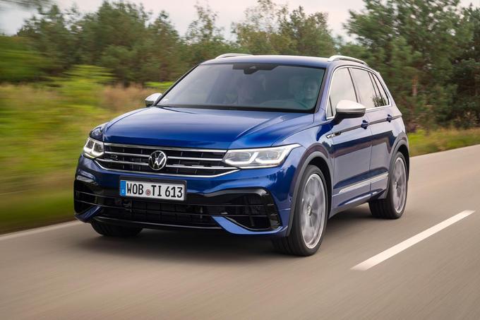 Volkswagen Tiguan R 2020 first drive review - hero front