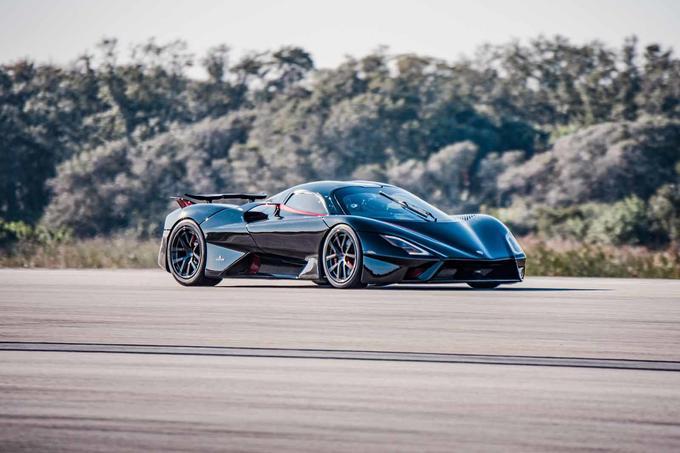 2021 SSC Tuatara Reruns Record Car Front 3.4