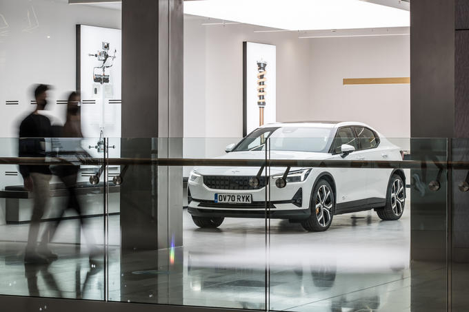 Polestar Space London opening official images - lead