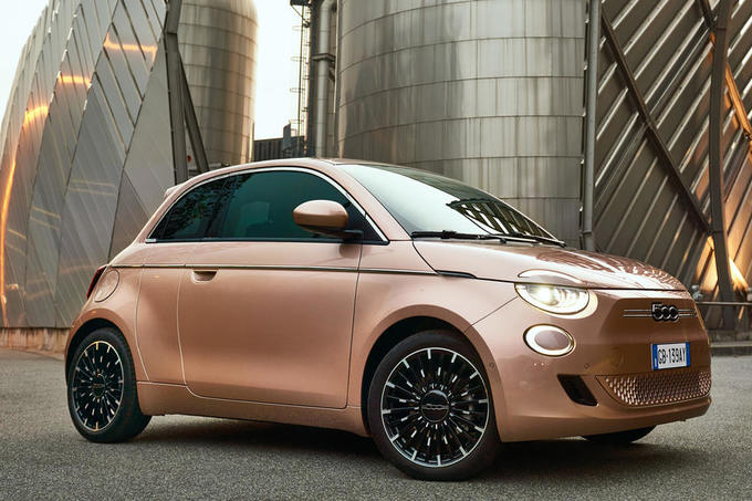 Fiat 500 3+1 official images - static