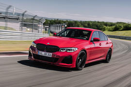 Alpina B3 2020 road test review - hero front