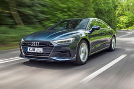 Audi A7 Sportback 2018 road test review hero front