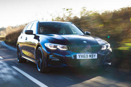 BMW 3 Series Touring 2020 road test review - hero front