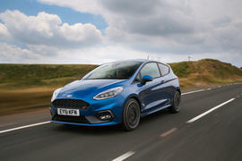 Ford Fiesta ST 2018 road test review hero front