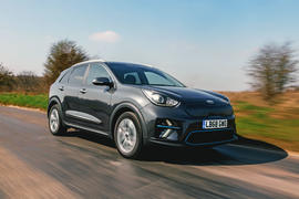 Kia e-Niro 2019 road test review - hero front