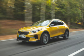 Kia Xceed 2019 road test review - hero front