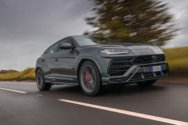 Lamborghini Urus 2019 road test review - hero front