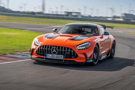Mercedes-AMG GT Black Series road test review - hero front