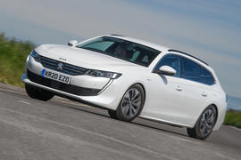 Peugeot 508 SW Hybrid 2020 road test review - hero front