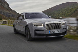 Rolls-Royce Ghost 2020 road test review - hero front