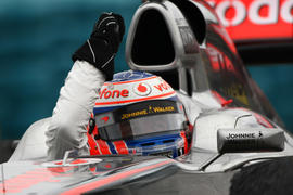 Button's Hungarian GP win in pics