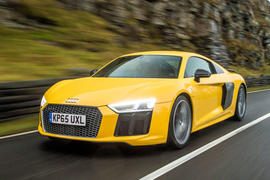 The second generation Audi R8