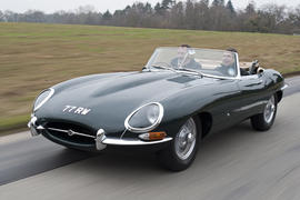 Jaguar launches new heritage car driving experience