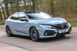 Honda Civic review hero front