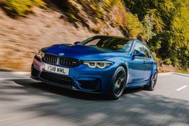 BMW M3 CS 2018 review hero front