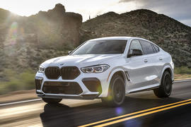 BMW X6 M Competition 2020 first drive review - hero front