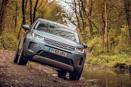 Land Rover Discovery Sport P200 2019 UK first drive review - hero front