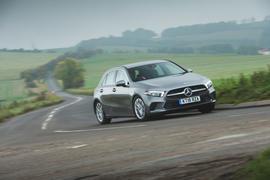 Mercedes-Benz A-Class 2018 long-term review - hero front