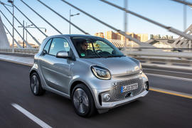 Smart EQ Fortwo 2020 first drive review - hero front