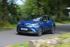 Toyota C-HR 2018 long-term review hero front