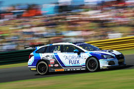 Subaru Levorg racer Ashley Sutton secures two wins at Croft