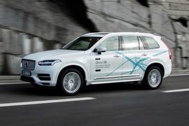 Volvo XC90 autonomous