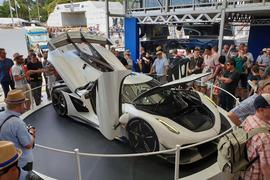 Koenigsegg Jesko appears at Goodwood Festival of Speed 2019