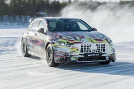 Mercedes-AMG A45 2019 prototype ride - hero front