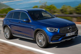 Mercedes-AMG GLC43 2019 official debut - hero front