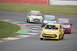 Citroen C1 racing at Silverstone