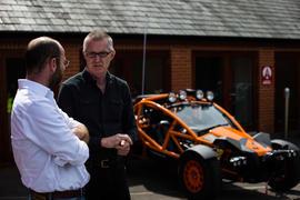 Simon Saunders wins Autocar's Sturmey Award