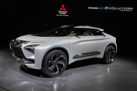 Mitsubishi e-Evolution concept car