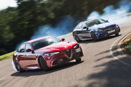 Alfa Romeo Giulia Quadrifoglio vs Mercedes-AMG C63 S